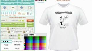 Custom TShirt Design Software and Application Tool, Creator or Maker by CBSAlliance.com