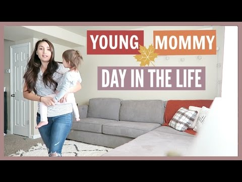 A Day In My Life! Stay-At-Home Mom 2016