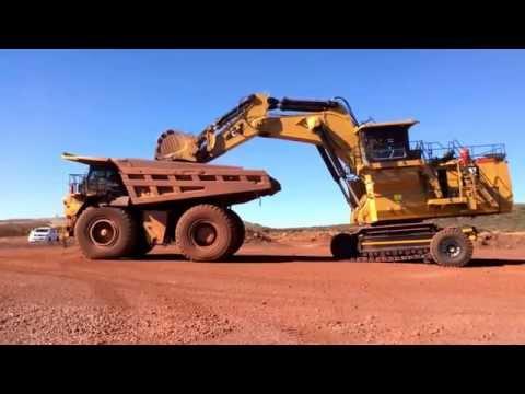 Sleipner E310 Beeshoek Mine Assmang South Africa - Delivery Day - New CAT6030.