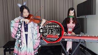 Demon Slayer EP19「Kamado Tanjiro no Uta」  When Nezuko and Shinobu playing Piano & Violin