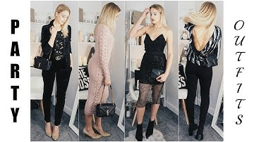 GLAM PARTY OUTFIT IDEAS   ASOS, Topshop, Glamorous, Public Desire Party Wear