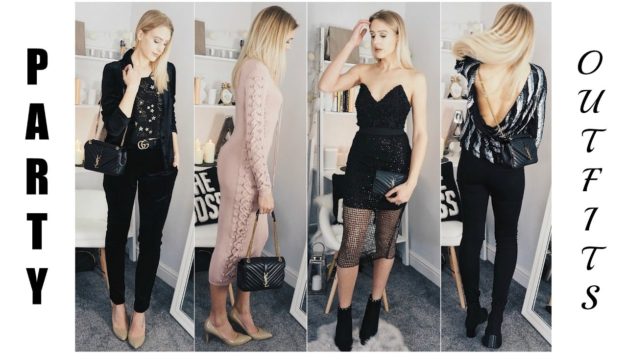 Glam Party Outfit Ideas Asos Top Glamorous Public Desire Wear You
