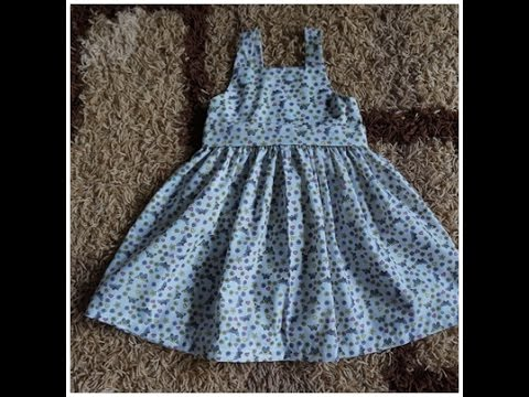 405e3c58fb Costura fácil vestido infantil - YouTube