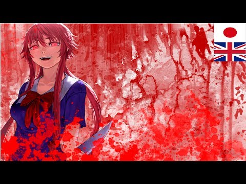 Mirai Nikki-Blood Teller [Full with Lyrics]