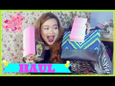 a CHATTY HAUL: Perfumes, Makeup, Plus Size Wear (Daiso, San San, SM Dept Store, Shopee)