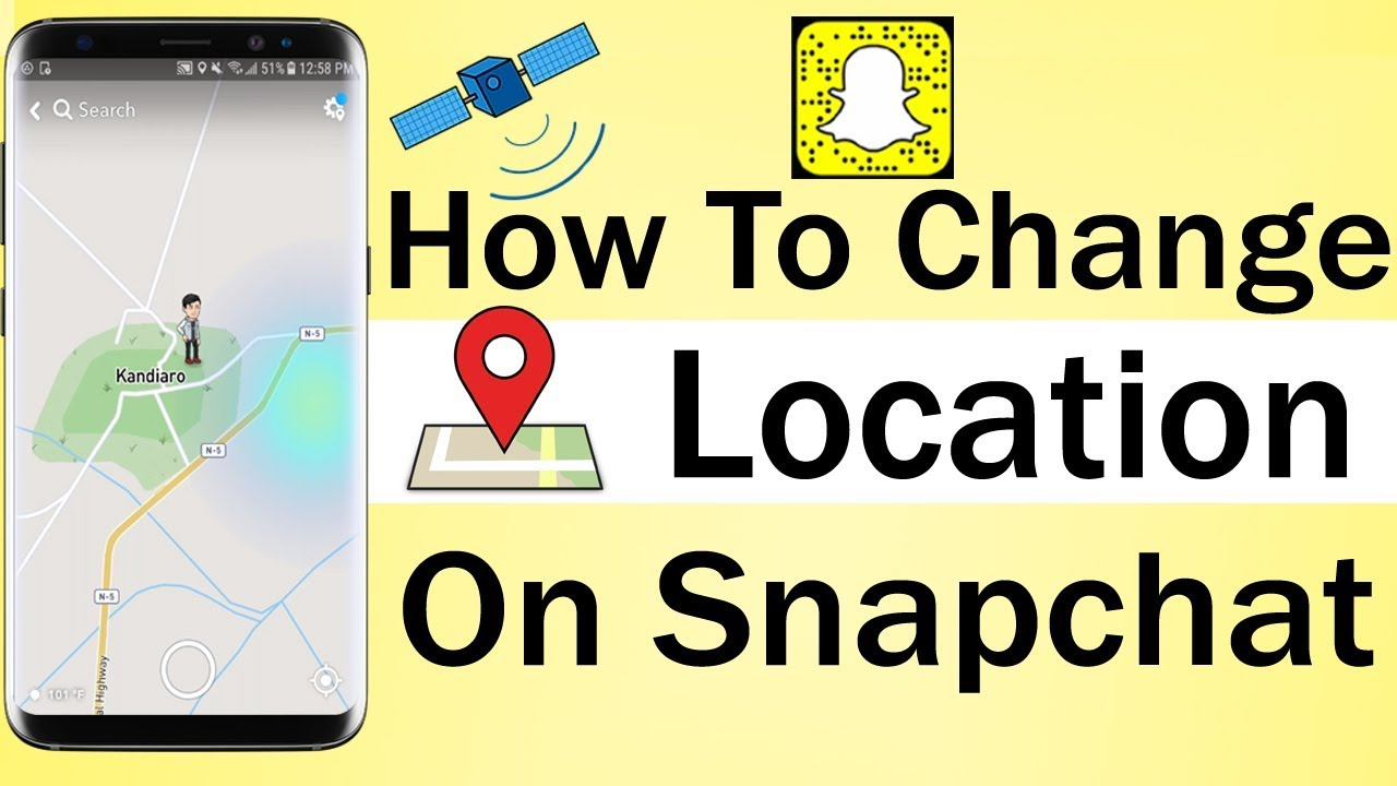 How To Change Location On Snapchat 2018