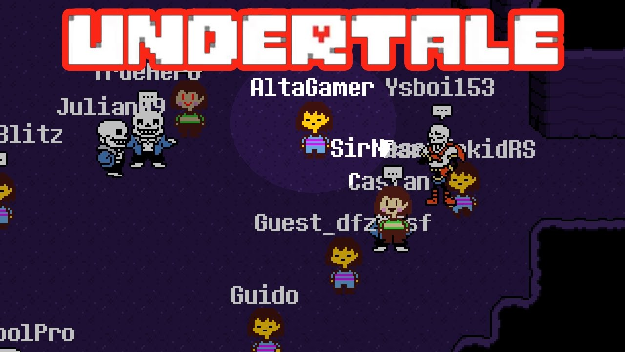 undertale don t forget multiplayer demo jogando um undertale