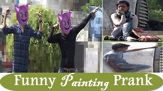 Funny Painting Prank Part -2| Funny Pranks in India 2018 | Khurafati