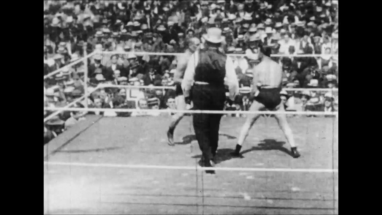 Tommy Burns's Famous Fights : against Bill Squires at Ocean View, California, 1907.