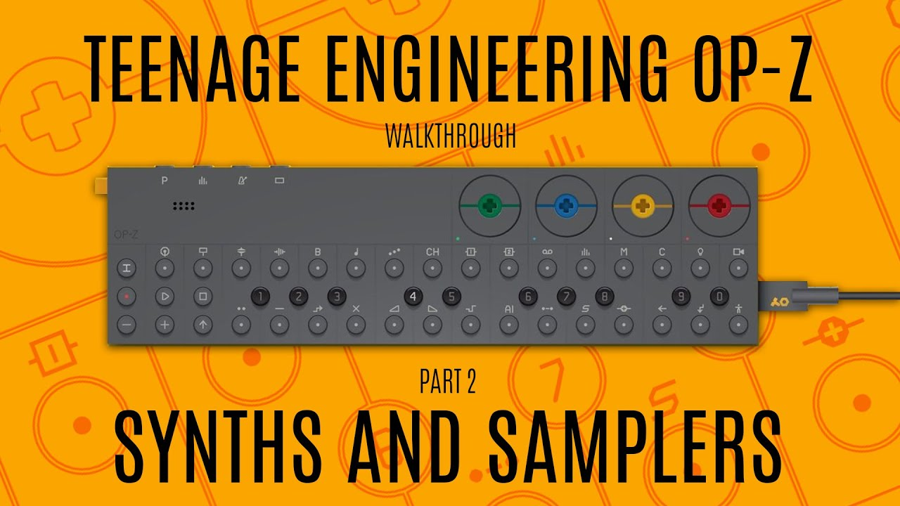 Teenage Engineering OP-Z Walkthrough (Synthesizer and Sampler Engines)