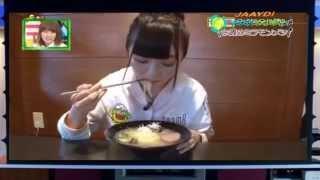 AKB48 佐藤七海 バドミントン食レポ 150628 チーム8 SKE48 NMB48 HKT48 ...