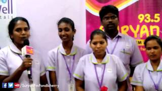 Suryan Fm Pondicherry Nurses Day Celebration