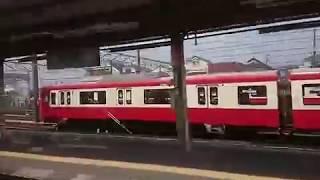 《600形車窓》京浜急行 快特 品川~横浜