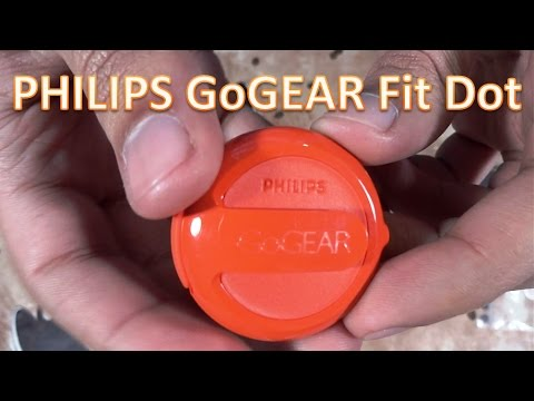 Philips GoGear FitDot 4GB Mp3 Player Unboxing