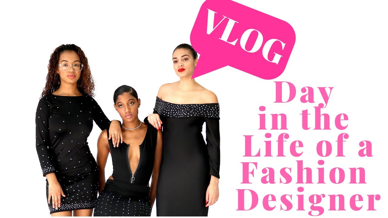 Bts Fashion Photoshoot Day In The Life Of A Fashion Designer Youtube