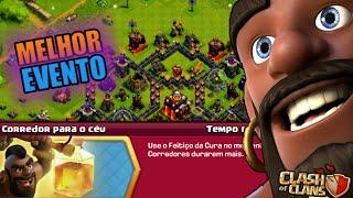TERMINEI O MELHOR EVENTO DE CORREDOR DO CLASH OF CLANS!!