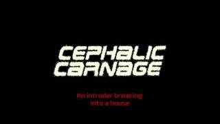 Watch Cephalic Carnage Paralyzed By Fear video