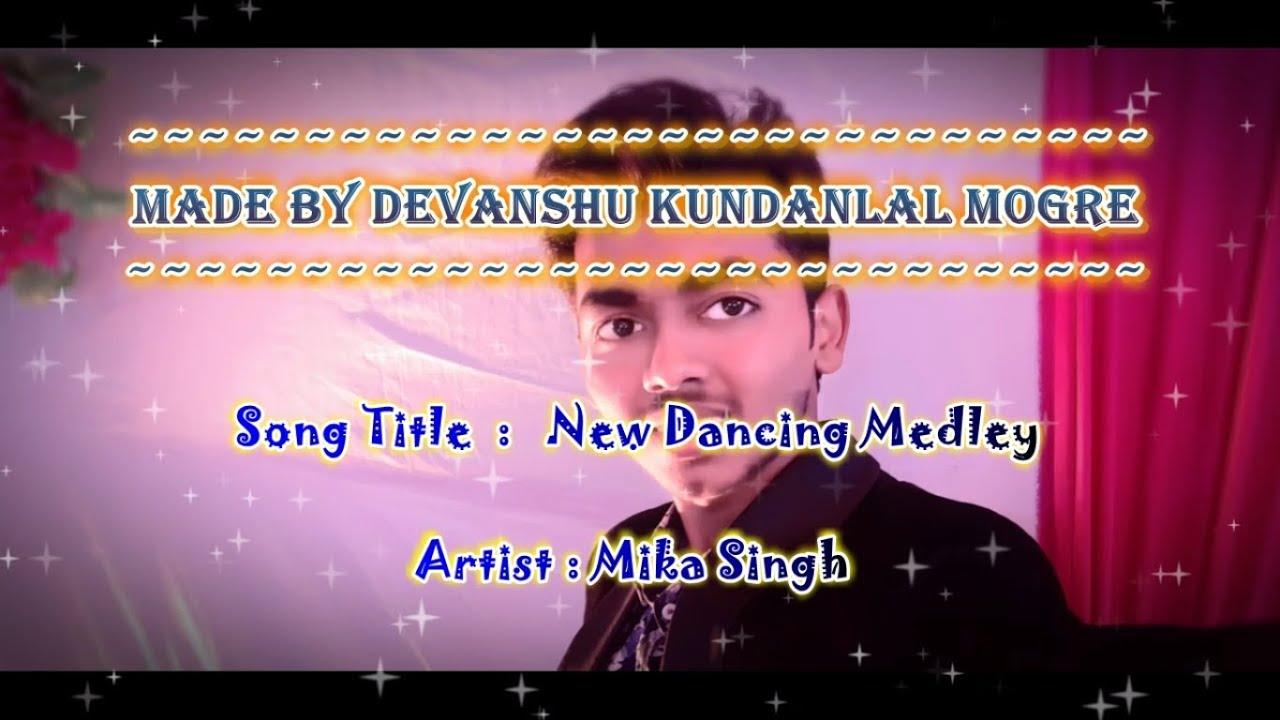 Download New Dancing Medley Karaoke With English Scrolling Lyrics - Mika Singh - (Paid)