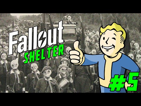 FALLOUT SHELTER Gameplay Part 5 -