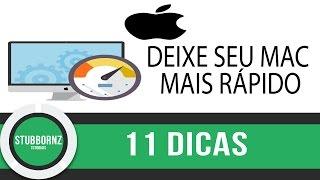 11 dicas para deixar o seu Mac OSX mais rápido,fluido com desempenho melhor