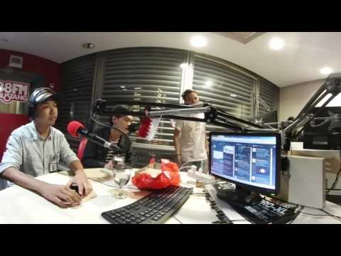 Malebbi Interview with TheKoma on Mustang Radio Jakarta (360 Video)