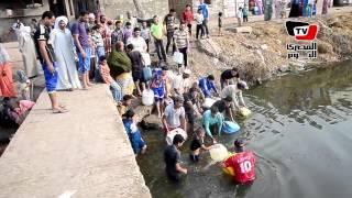 أهالي عزبة السوداء بالدقهلية: «بنتوضأ من مياه الصرف»