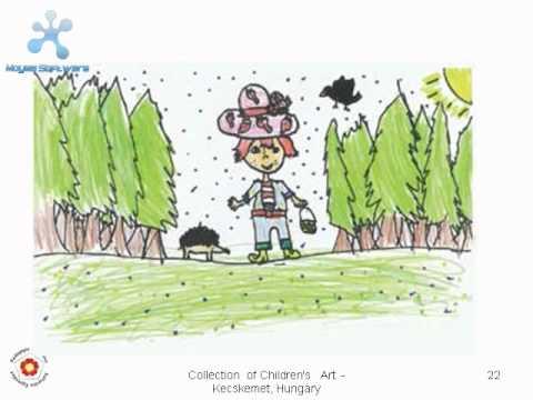 Virtual Gallery of Child's Art- Magyar gyermekrajzok