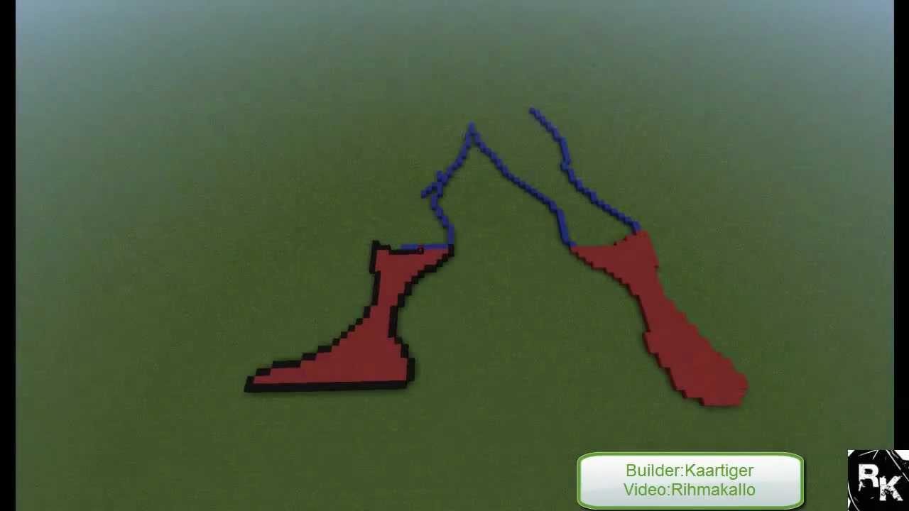 minecraft pixel art templates spider man