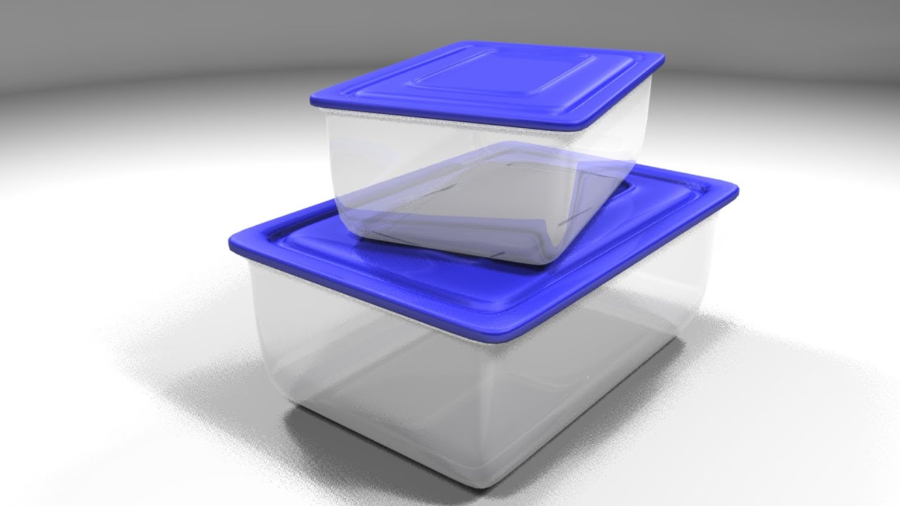 Acrylic Box Tutorial : Maya tutorial how to model plastic containers