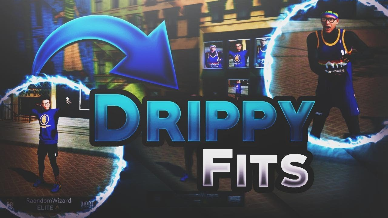 BEST OUTFITS IN NBA 2K19 PART 3! DRIPPY FITS by The Random Wizard
