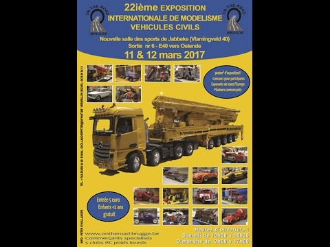 On The Road 2017   Jabbeke, Belgium   International model show