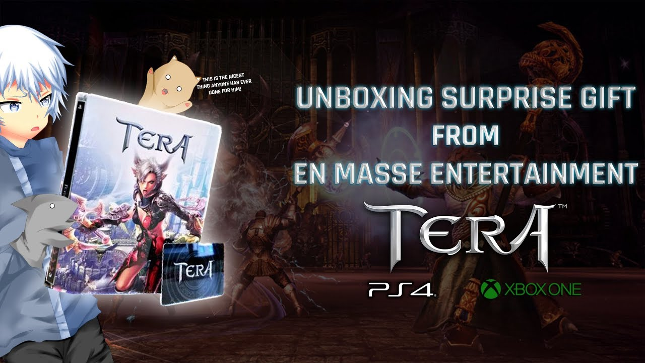 TERA [PS4/XB1] | Unboxing Surprise Gift from En Masse Entertainment