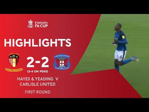 Hayes Carlisle Goals And Highlights