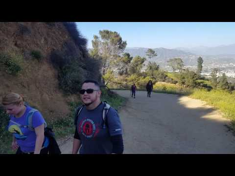 Purple Hollywood Sign Sunset Hike