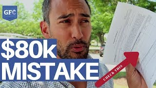 Avoid This $80,000 Mistake 😳 (in less than 5 minutes)