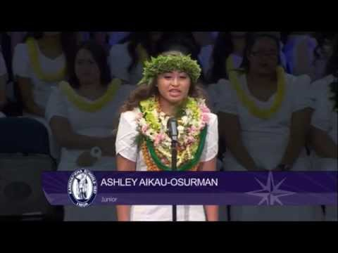 Kamehameha Song Contest 2014 - Junior Women