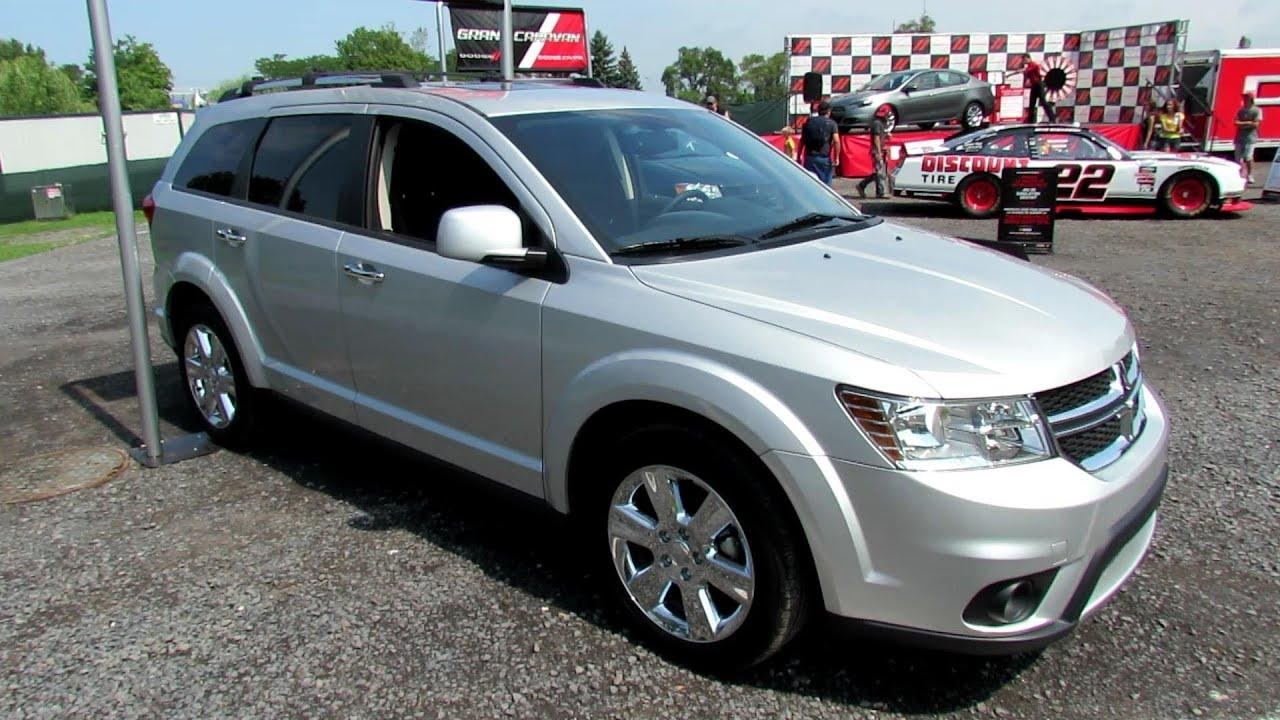 2012 Dodge Journey Awd R T Exterior And Interior 2012 Nascar