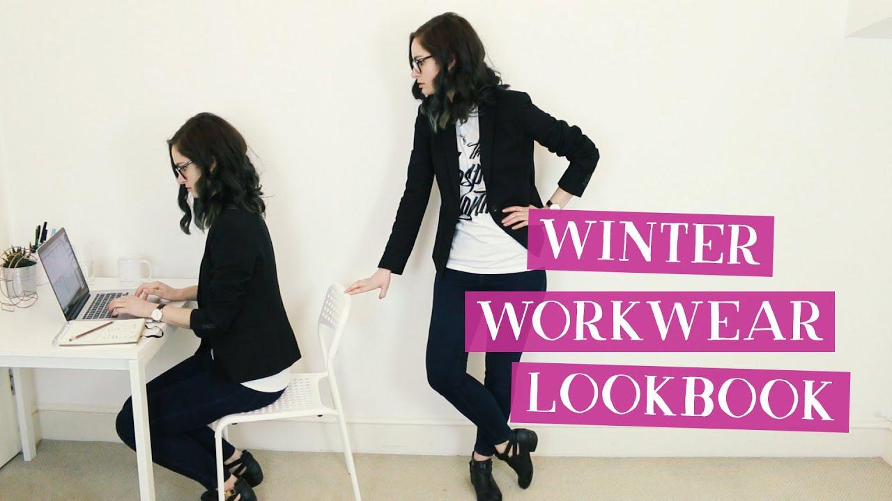Winter Graphic Designer Workwear Lookbook Charlimarietv Youtube