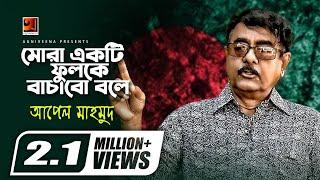 Mora Ekti Fulke Bachabo Bole || by Apel Mahmud | Deshattobodhok Gaan | Official Lyrical Video