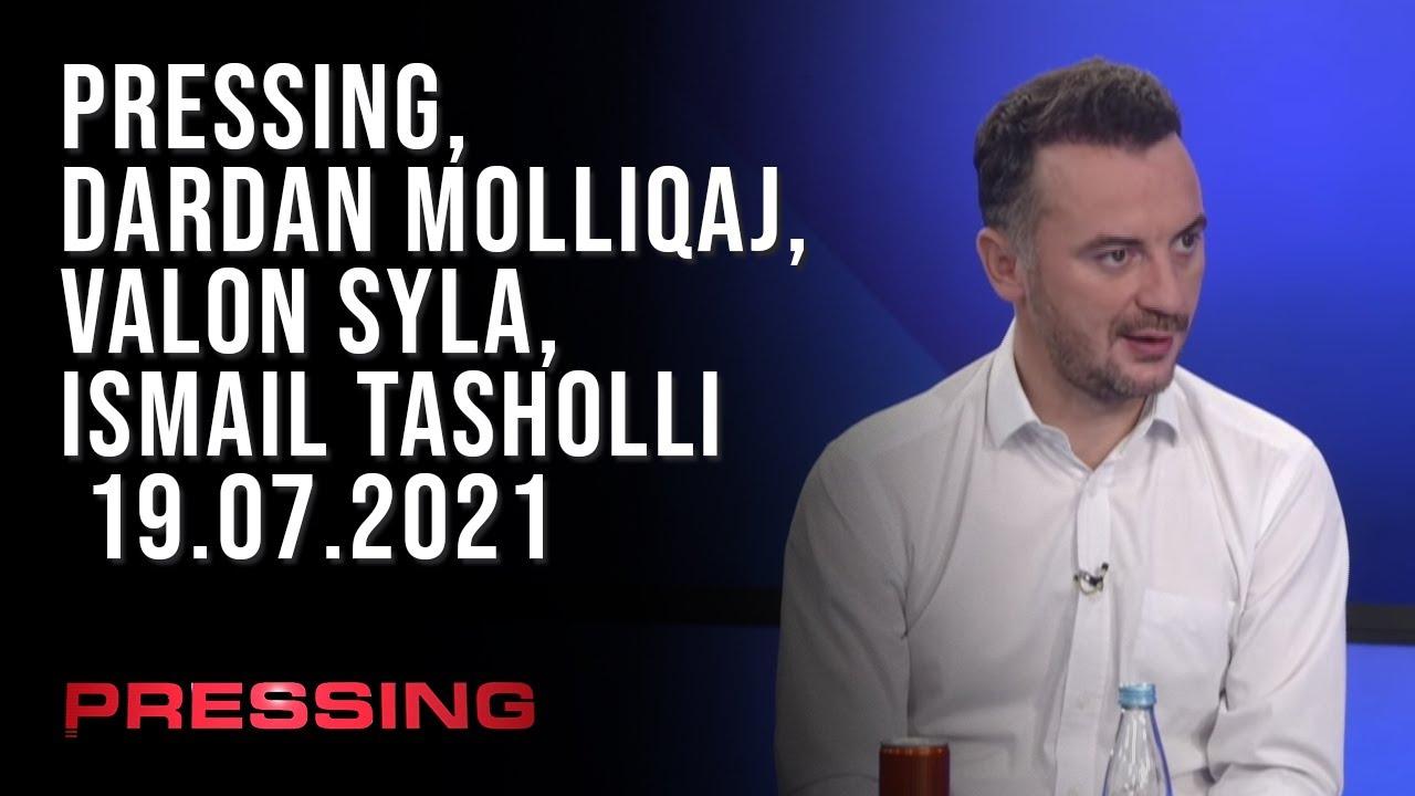 PRESSING, Dardan Molliqaj, Valon Syla, Ismail Tasholli - 19.07.2021