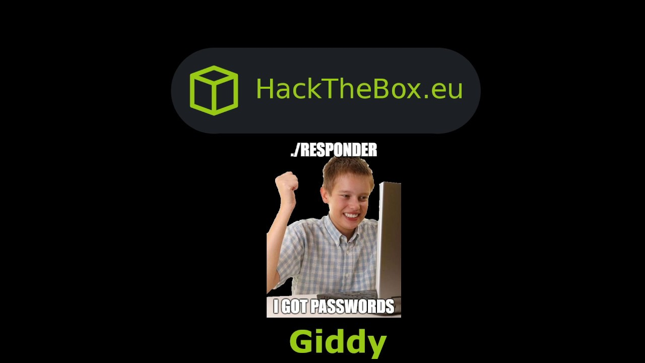 HackTheBox - Giddy