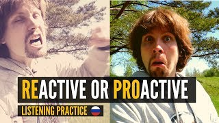 Be Proactive! - Intermediate Russian Listening Practice