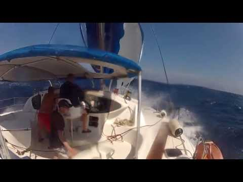 SAILING AROUND THE GREECE CYCLADES (Trailer 2012)