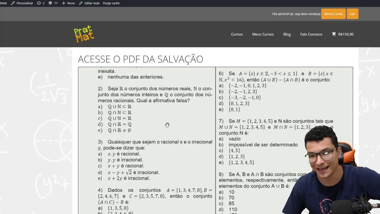 🛑COMO FUNCIONA MEU CURSO DE REVISÃO PARA ESA ?!
