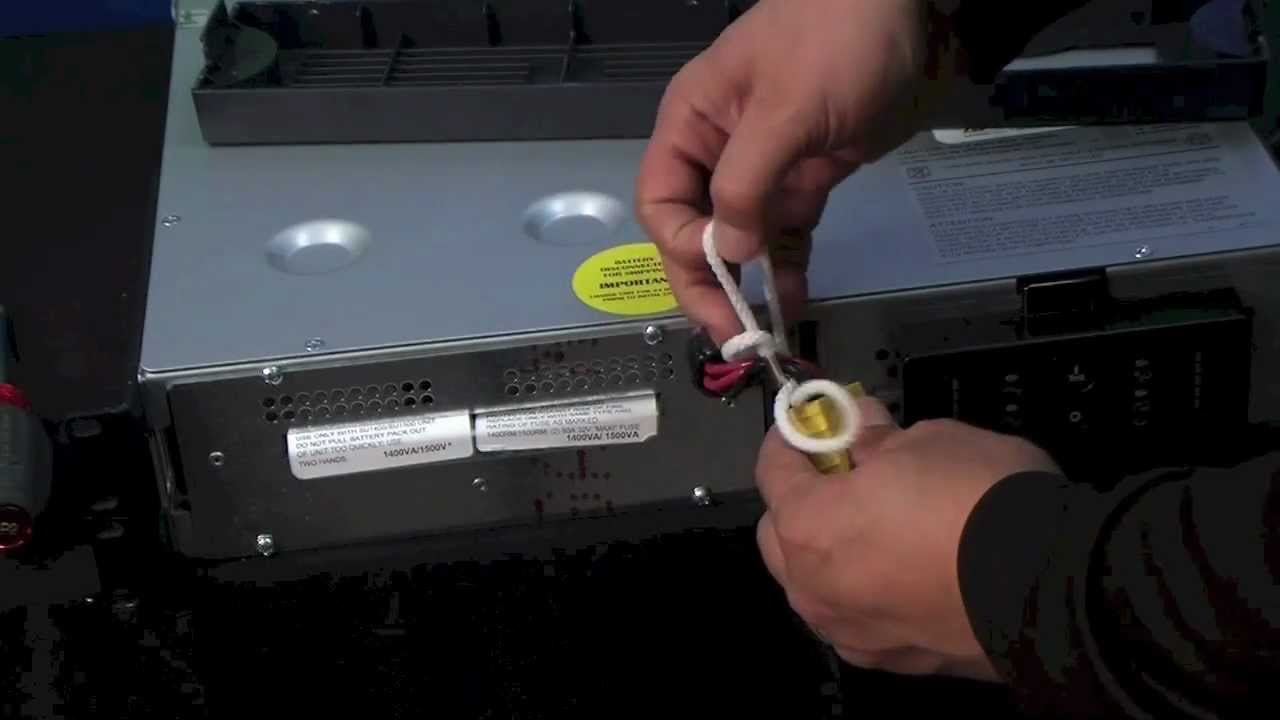 apc smart ups rackmount unit won't turn on - youtube, Wiring diagram
