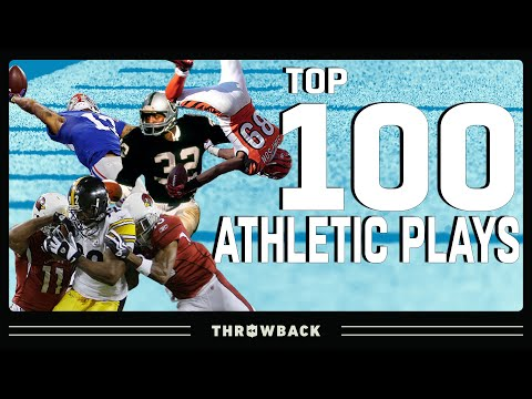 Top 100 Most INSANE Athletic Plays in NFL History!