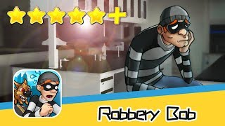 Robbery Bob™ Challenge Level 2-3 Walkthrough Stimulating Mission Recommend index five stars+