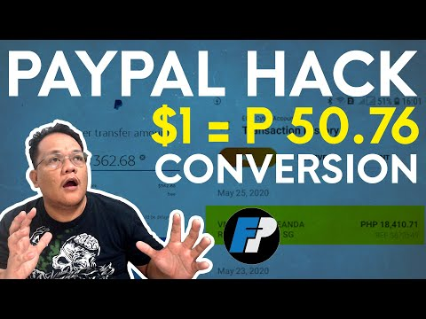 PayPal Currency Conversion Hack 2020! (TAGALOG) | Change Card Currency To Dollar