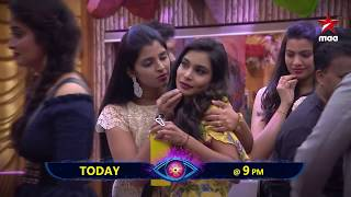 Elimination Day Today!! Who will it be?? #BiggBossTelugu2 Today at 9 PM