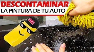 Aprende como descontaminar la pintura de tu auto con un claybar